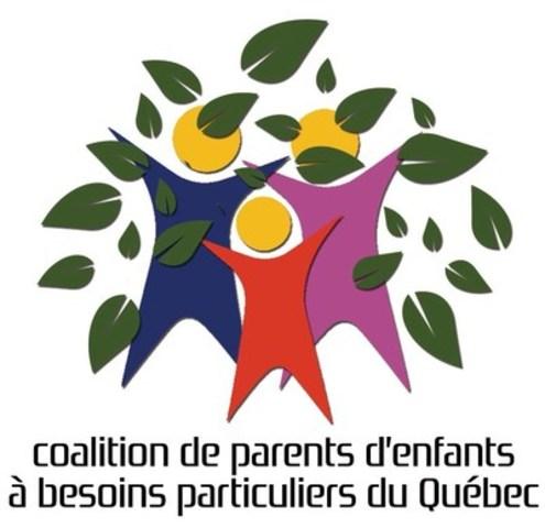 Logo: Coalition de parents d'enfants à besoins particuliers du Québec (Groupe CNW/Coalition de parents d'enfants à besoins particuliers du Québec)