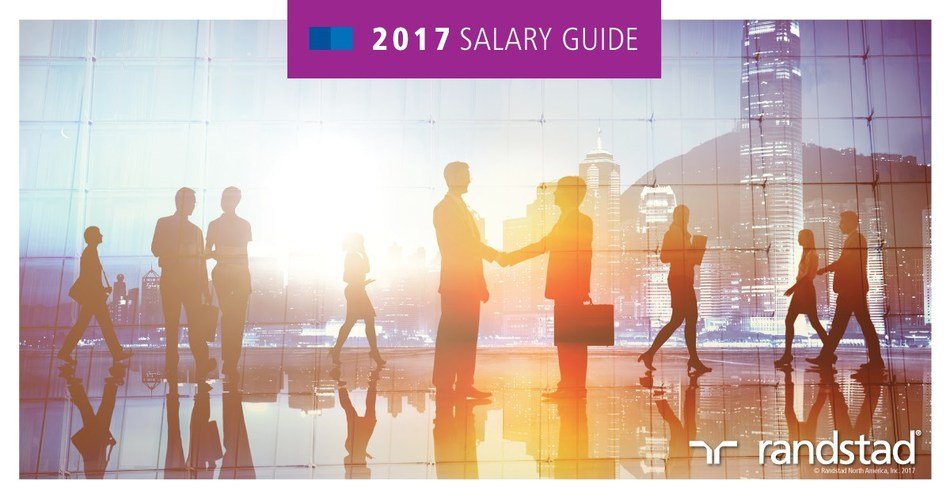 Randstad launches 2017 Salary Guides to provide job seekers with insight into how their compensation stacks up with others and helps employers assess their pay rates against competitors in their markets.