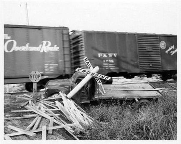 Photographe inconnu (Collision), 1955, Archives de l'artiste (Groupe CNW/Musée des beaux-arts du Canada)