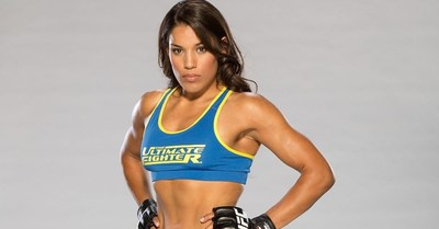 Julianna Pena is the number 3 ranked UFC MMA women's bantamweight fighter and a title contender