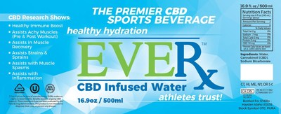 EVERx is a new sports, fitness and wellness nutritional supplement brand specializing in products infused with cannabidiol