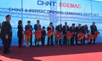 CHINT & EGEMAC Opening Ceremony at Cairo (PRNewsFoto/CHINT Group)