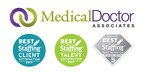 Medical Doctor Associates Wins Inavero's 2017 BEST OF STAFFING® Client and Talent Awards