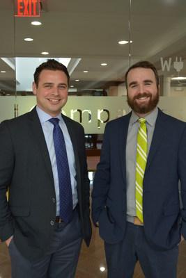 L to R, Mark Agostinelli, Regional VP and Patrick Davis, VP Business Operations