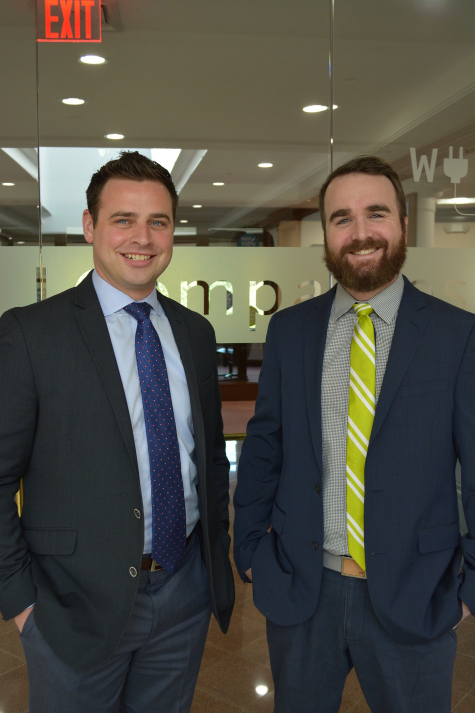 L to R, Mark Agostinelli, Regional VP and Patrick Davis, VP Business Operations