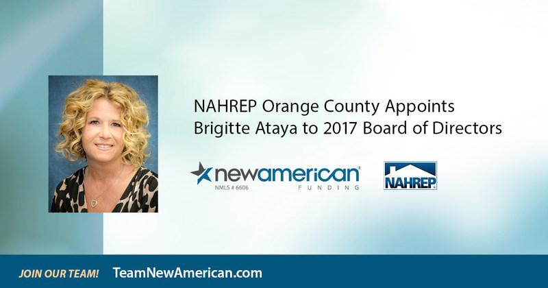 NAHREP Orange County Appoints Brigitte Ataya to 2017 Board of Directors.