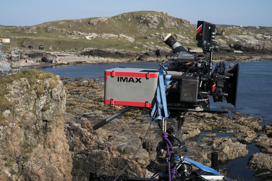 IMAX cameras were used to capture the stunning landscape of Ireland for STAR WARS: THE LAST JEDI.  This next chapter in the Star Wars saga, directed by Rian Johnson, is scheduled for release December 15, 2017.