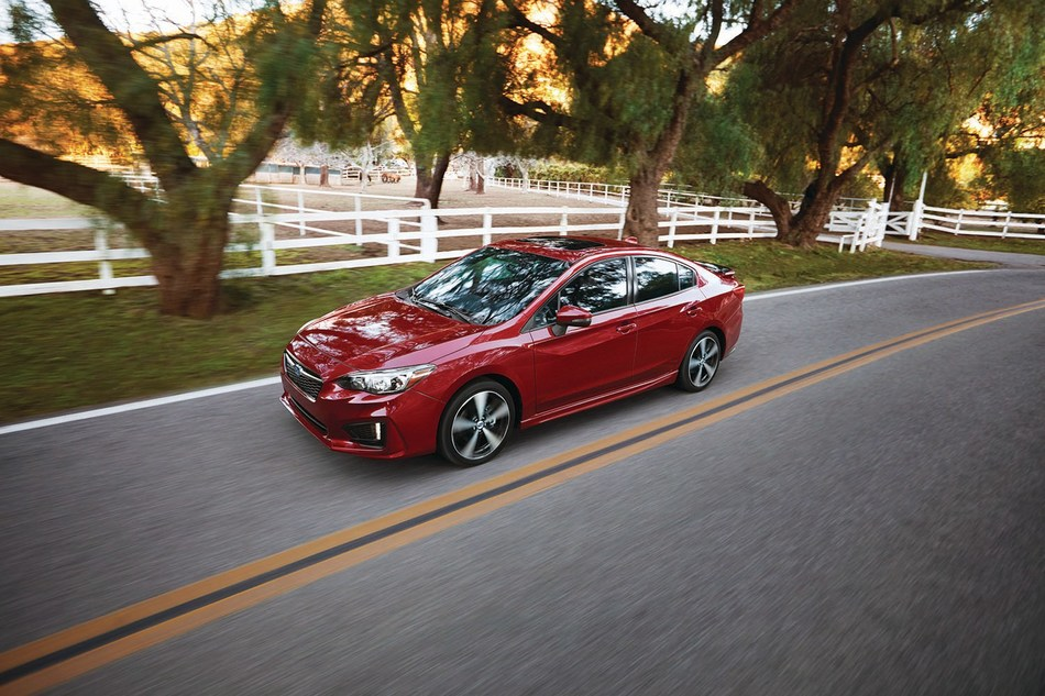 2017 Subaru Impreza earns IIHS 2017 Top Safety Pick+ Award