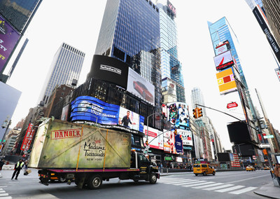 KONG: SKULL ISLAND takes over Times Square on its way to Madame Tussauds New York on February 21, 2017 in New York City.  (Photo by Cindy Ord/Getty Images for Madame Tussauds New York)