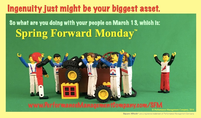 Energized Employees on Spring Forward Monday