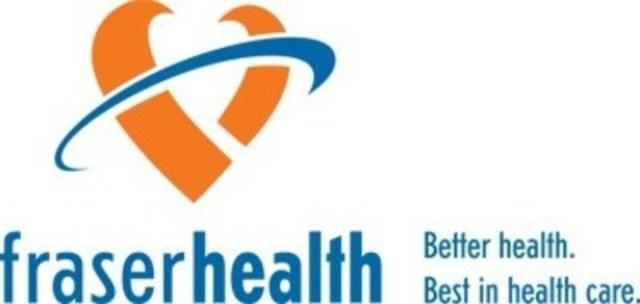 Logo: Fraser Health (Groupe CNW/Fondation canadienne pour l'amélioration des services de santé)