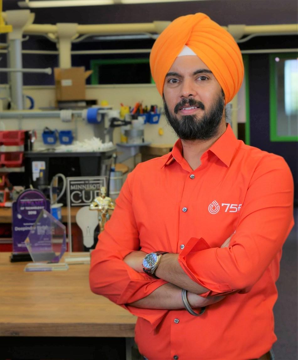 75F CEO, Deepinder Singh