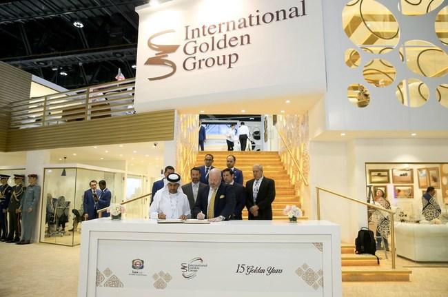 Fraser Optics and International Golden Group Sign Deal at IDEX 2017