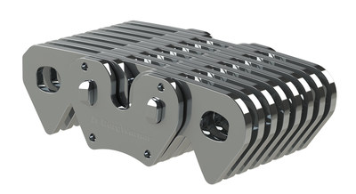 Optimized for high-efficiency, durable performance, BorgWarner's HY-VO(R) chains offer quiet, efficient performance for the Chevrolet Volt plug-in hybrid and Malibu hybrid.