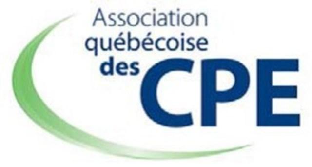 Logo : Association québécoise des CPE (Groupe CNW/Association québécoise des centres de la petite enfance)