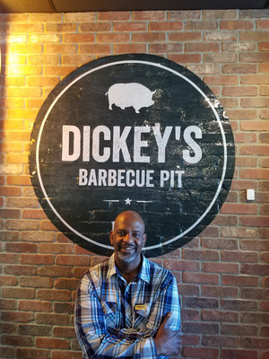 Owner/Operator Tommie Reno, Jr. opens his first Dickey's Barbecue Pit in St. Paul.