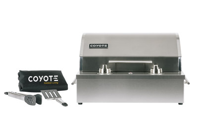 a versatile electric grill is introduced by coyote outdoor living - Coyote Grills