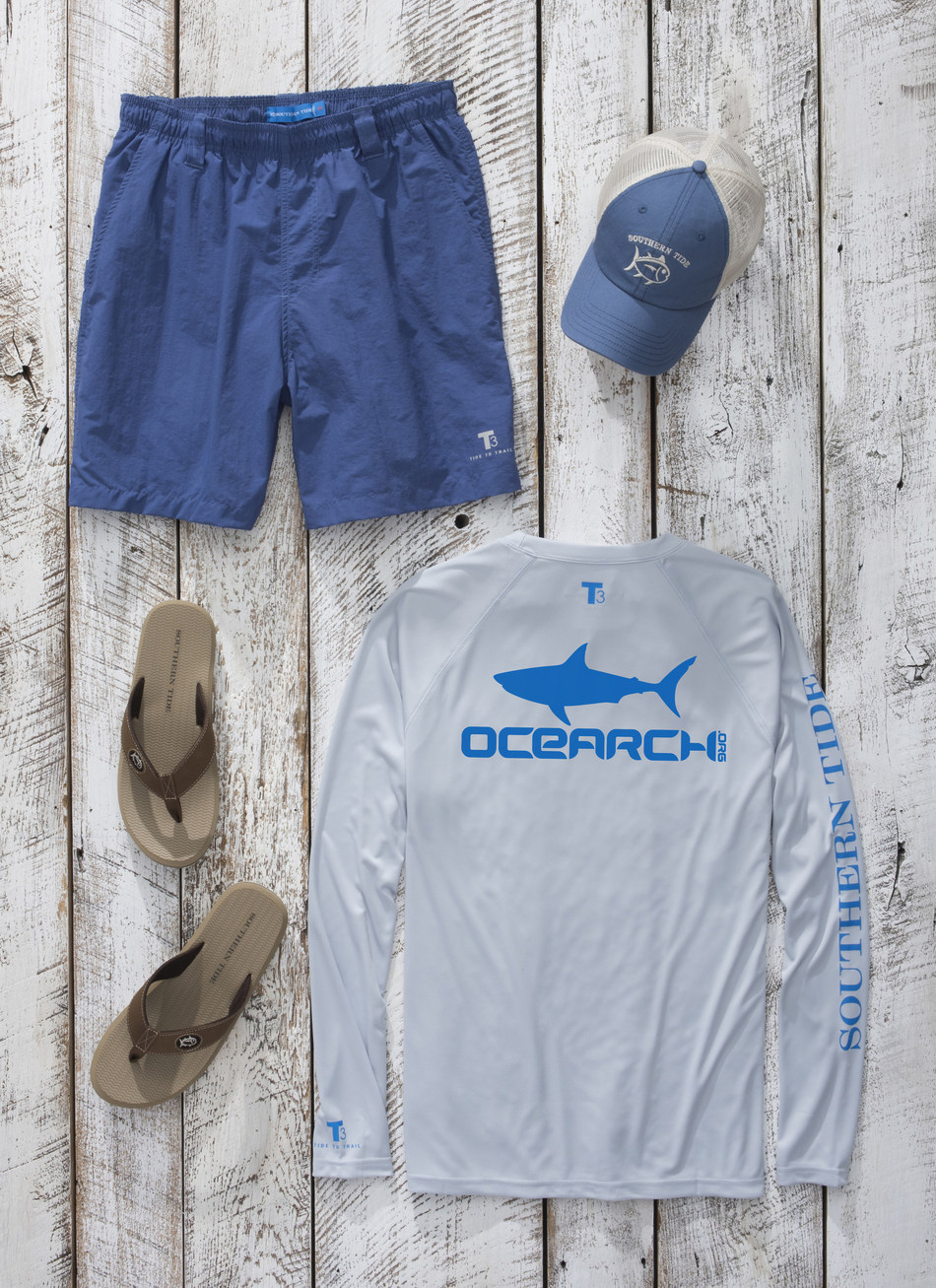 Southern Tide is outfitting the OCEARCH crew for their upcoming expeditions.