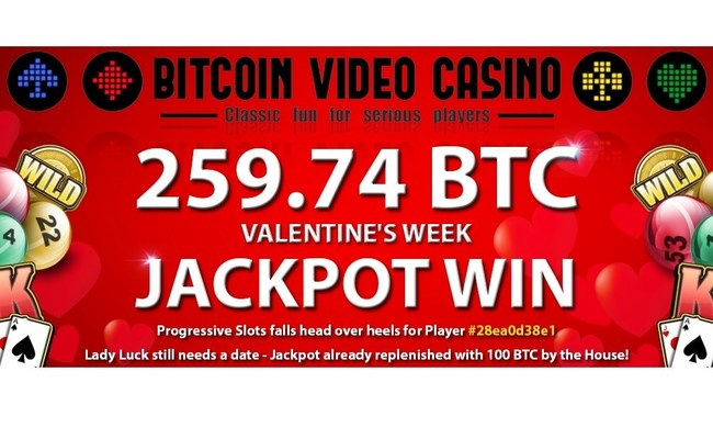 (PRNewsFoto/Bitcoin Video Casino)