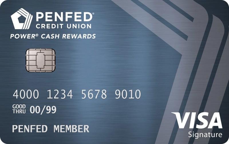 The new PenFed Power Cash Rewards Visa Signature(R) Card