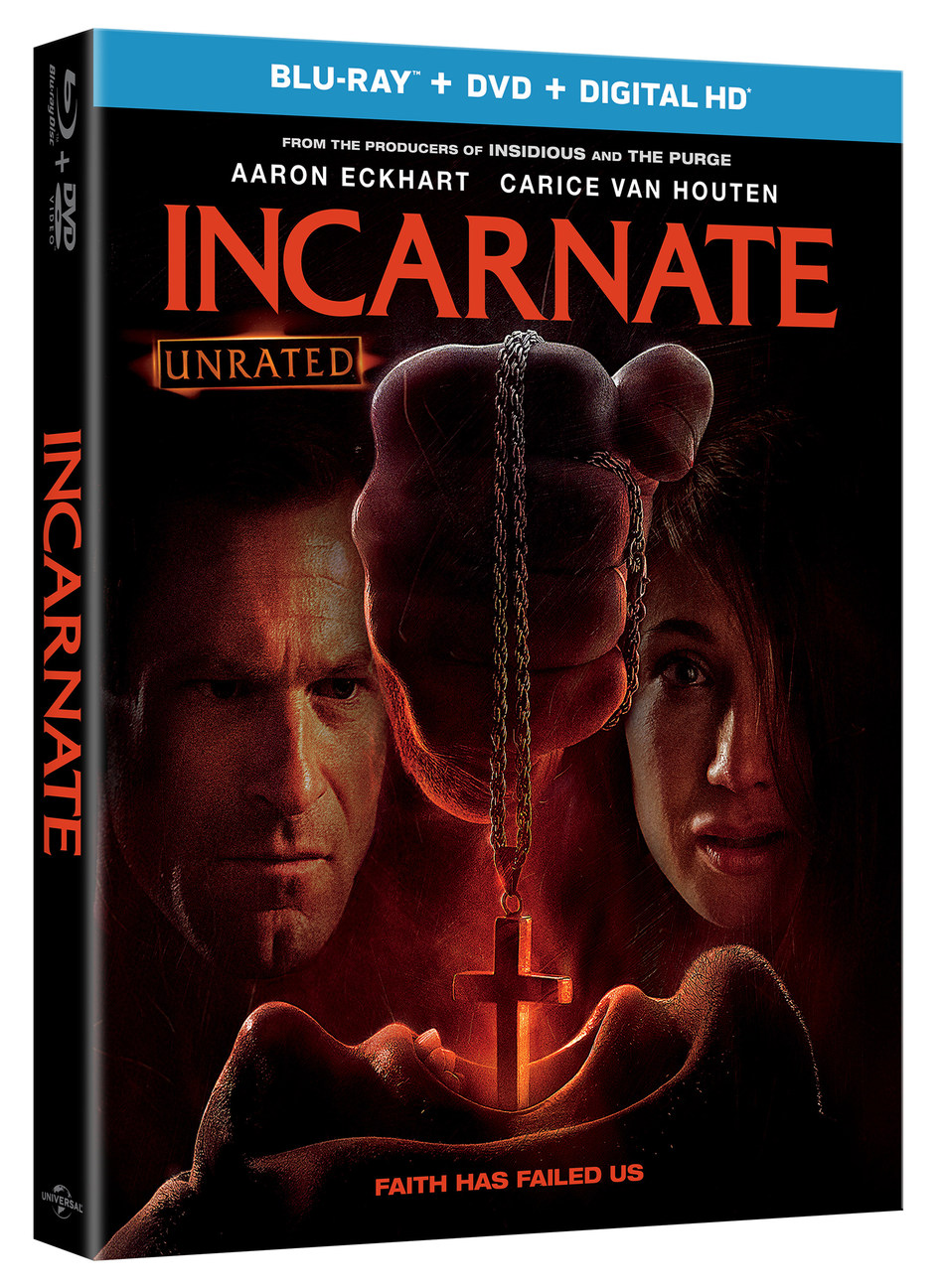 From Universal Pictures Home Entertainment: Incarnate