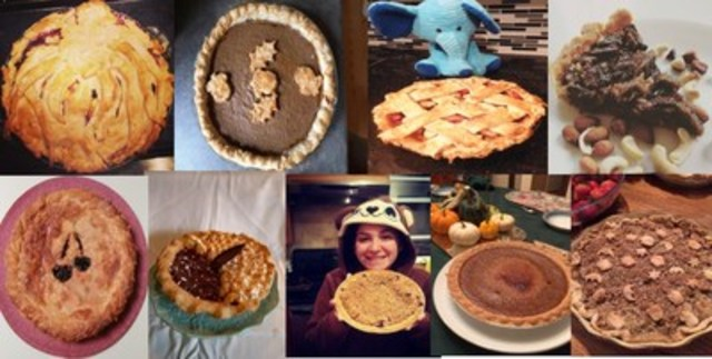 Some #PIechallenge entries received (CNW Group/Immunodeficiency Canada)