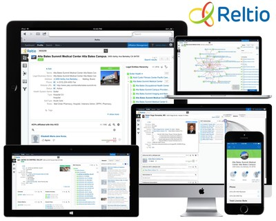 Reltio Cloud helps enterprises Be Right Faster with Reliable Data, Relevant Insights and Recommended Actions, anytime, anywhere on any device.
