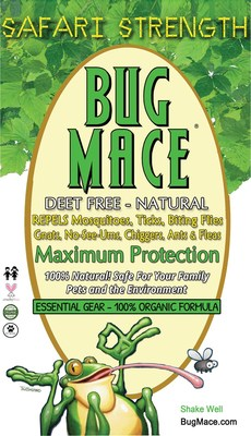 BugMace 100% Organic & All Natural Mosquito and Insect Repellent