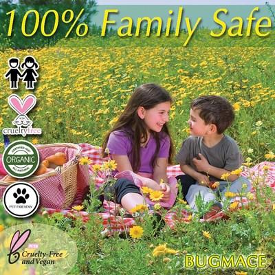 BugMace 100% Organic, All Natural, Vegan & Cruelty Free Mosquito Repellent
