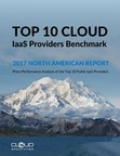Cloud Spectator Releases 2017 Top 10 Cloud IaaS Providers Benchmark for North America