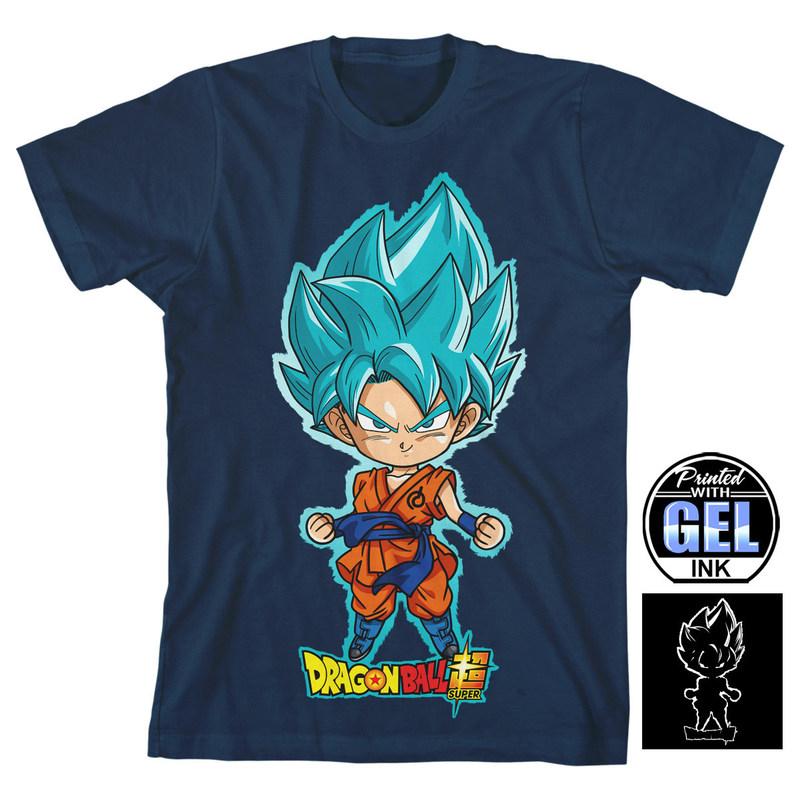 Sample Dragon Ball Super t-shirt design by Bioworld Merchandising Inc.