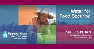 Conference to address advances in water and food security from local to global scales