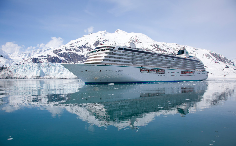 Crystal Serenity in Glacier Bay