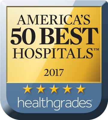 For the third consecutive year, Saddleback Memorial Medical Center received Healthgrades 2017 America's 50 Best Hospitals Award(TM).