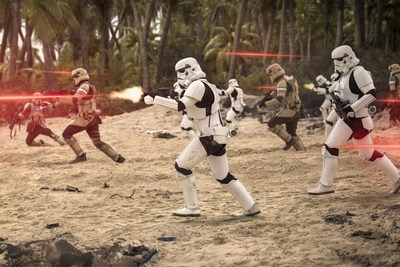 """""""Rogue One: A Star Wars Story"""" caption: Image Courtesy of Industrial Light & Magic. (c) 2016 Lucasfilm Ltd. All Rights Reserved."""