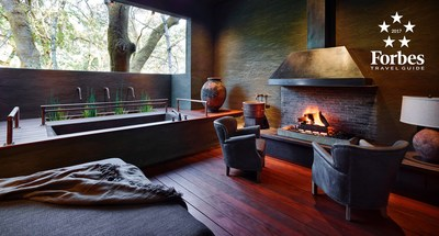 The Treehouse Retreat in the Meadowood Spa.