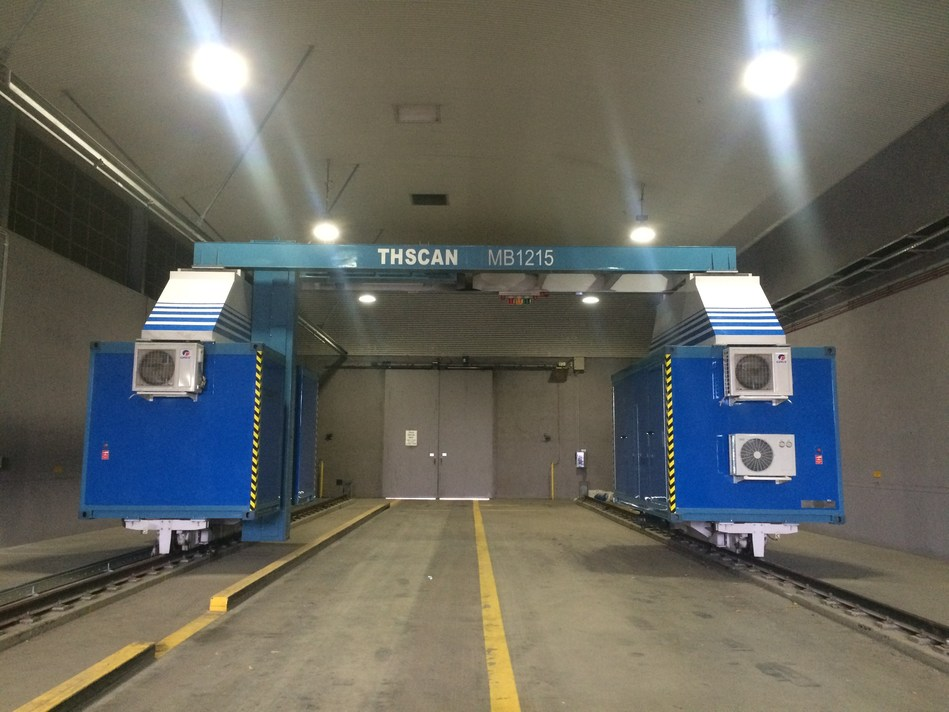 The Relocatable Container Vehicle Inspection System-1