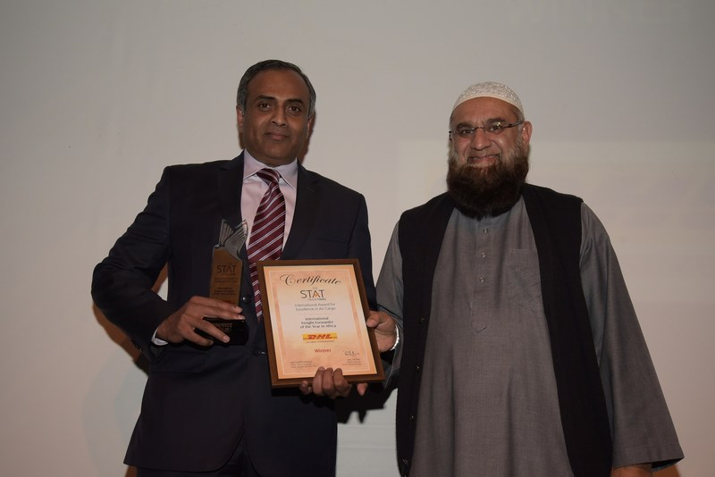 DHL receives International Award for Excellence in Air Cargo from STAT Times (PRNewsFoto/DHL)
