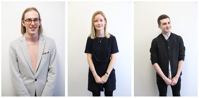 The four finalists for the 2017 Rising Star Award are Connor Mahon, India Smyth and Euan Steedman. (PRNewsFoto/Gorkana)