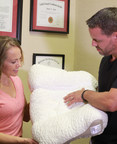 Dr. Jason Loth demonstrates the revolutionary SpineAlign pillow. According to the National Institutes of Health, 50 to 70 million Americans are affected by chronic sleep disorders and intermittent sleep problems that can significantly diminish your health. Believe it or not, your pillow could be playing a major role in why you're not sleeping comfortably throughout the night.