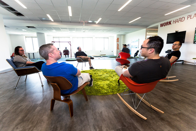 Team Carfax members in their newly-expanded Fairfax County office, just named a Great Place to Work by Washingtonian a record eight straight times.