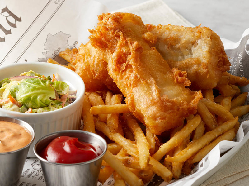 Peroni Beer-Battered Fish and Chips