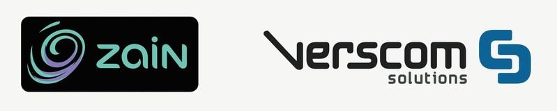 Zain Group and Verscom Solutions Logo (PRNewsFoto/Verscom Solutions)