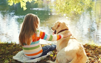 Family pets boost child development (PRNewsFoto/Mars Petcare)