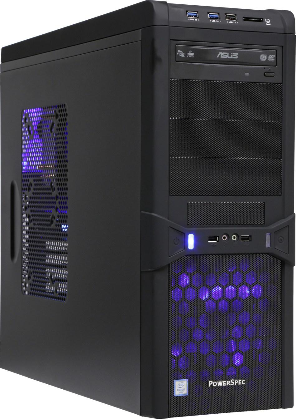 Micro Center's PowerSpec G740 PC with AMD Ryzen 1700X  CPU