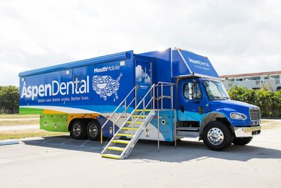Tampa Crossroads hosted Aspen Dental's MouthMobile today, which provided free dental care to local veterans.