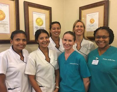 The Nursing Team at Barbados Fertility Centre