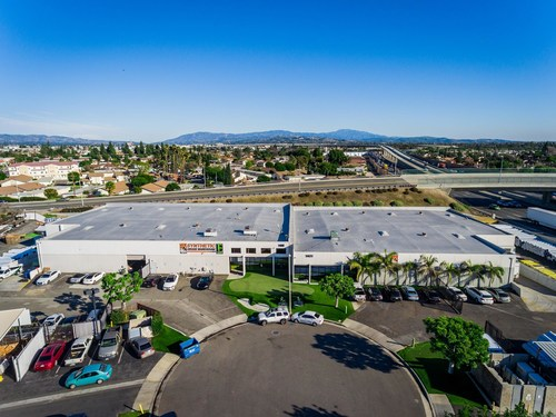 SGW's 70,000 sq. ft. warehouse located in Anaheim, CA.
