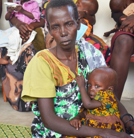 Drought and conflict have pushed the people in South Sudan to the brink of survival with famine being declared in parts of the country. (CNW Group/World Vision Canada)
