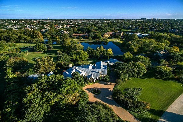An extraordinary home on a 4.6-acre lakefront lot in Plano, Texas, goes up for bids March 14 in Heritage Auctions' Luxury Real Estate Auction.